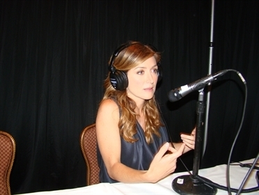 Sasha Alexander @ the R&I press junket