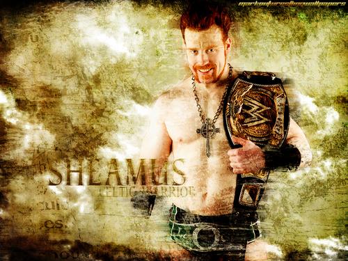 WWE wallpaper entitled Sheamus