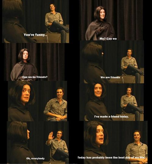 Snape gets a friend :)