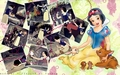disney-princess - Snow White and her friends wallpaper