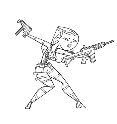 Solid E-Scope Lineart base