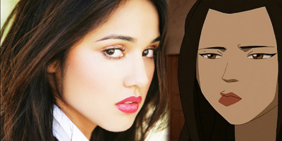 Summer Bishil (she plays Azula in the movie) compared to Azula