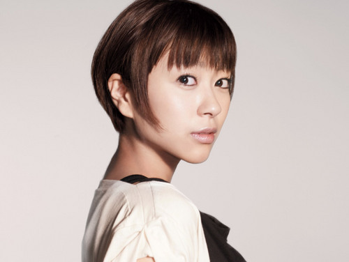 Utada Hikaru kertas dinding entitled This Is the One Promos