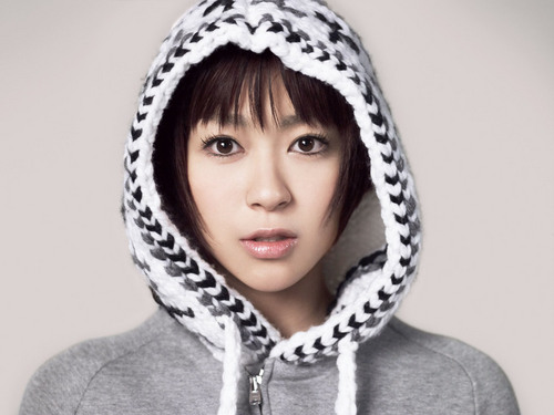 Utada Hikaru fondo de pantalla titled This Is the One Promos