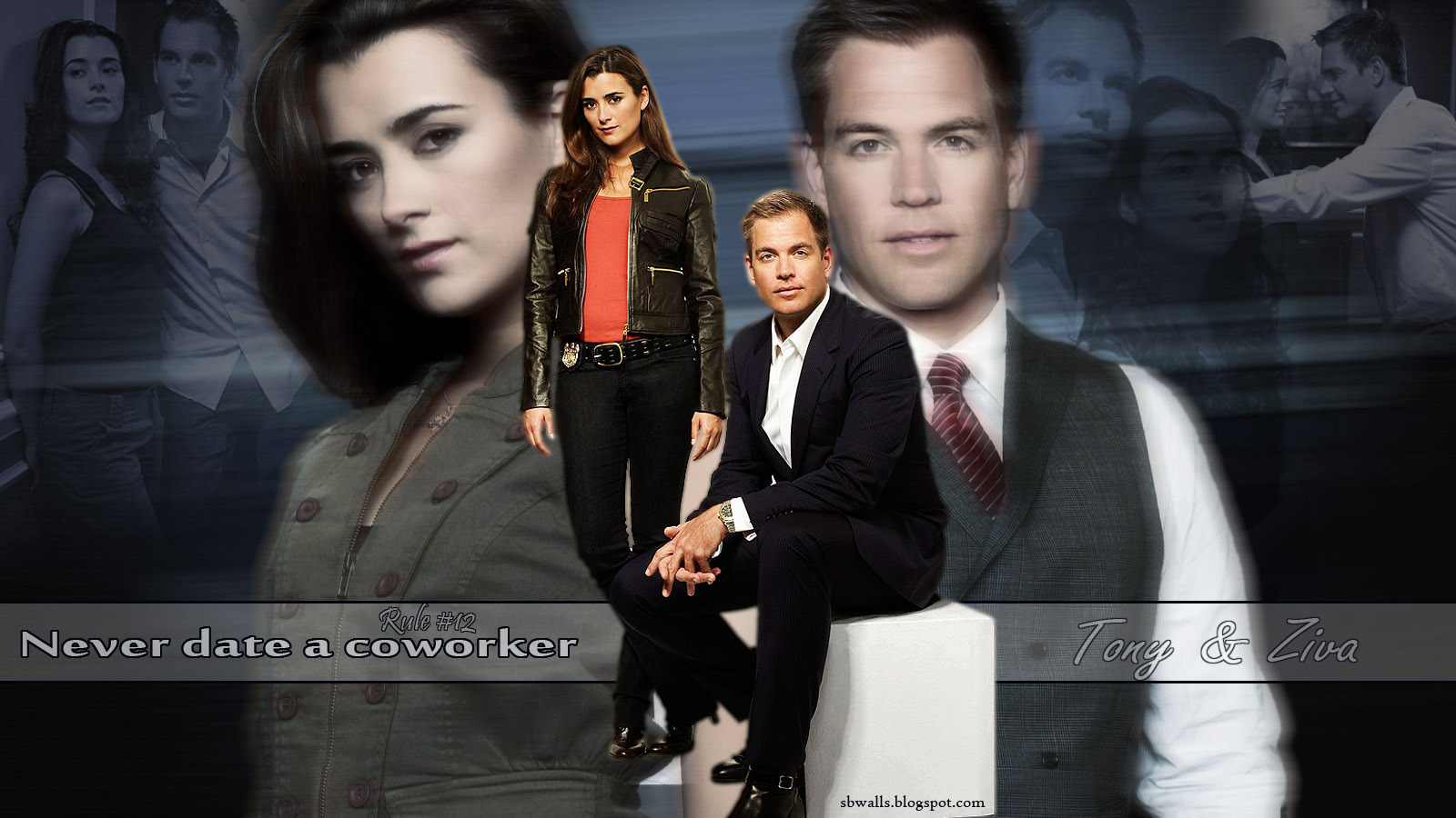 ziva and tony on ncis