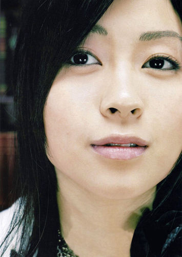 Utada Hikaru 壁紙 entitled Ultra Blue Promos