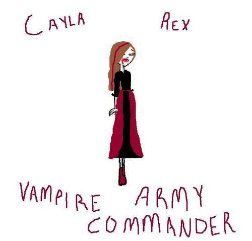 Vampire Commander Cayla