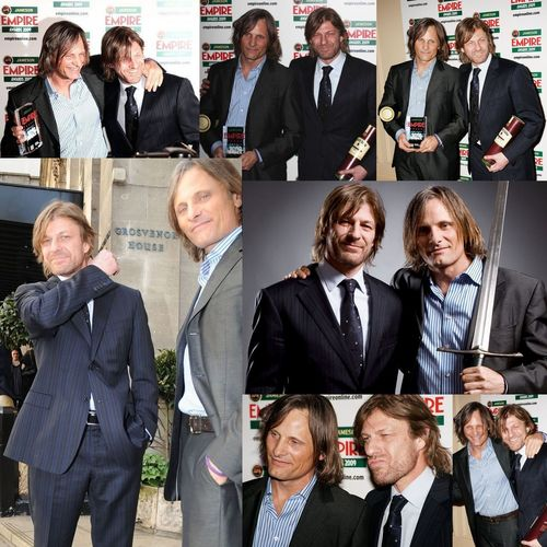 Viggo Mortensen and Sean सेम, बीन