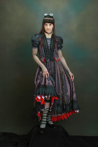 제비꽃, 바이올렛 Baudelaire Cosplay