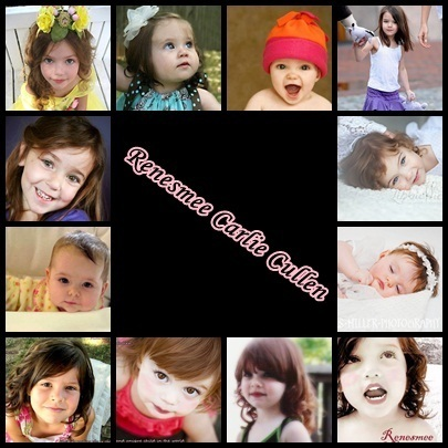 all the little girls and bebês who I think shoudl play Renesmee in breaking dawn