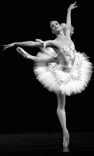 Ballet Wallpaper Entitled Ballerina