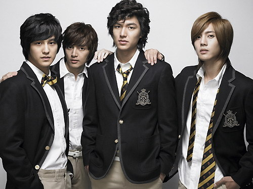 boy over flower :)