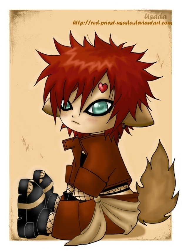 chibi gaara - Naruto Photo (14760563) - Fanpop Gaara And Naruto Chibi