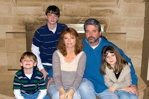 me my brothers my mom and my dad