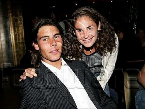 rafa nadal and ex girlfriend