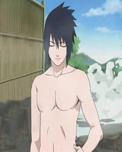 sasuke  is super hot