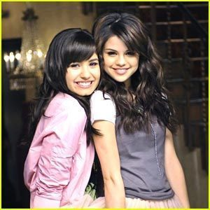 Selena Gomez and Demi Lovato wallpaper called selena and demi