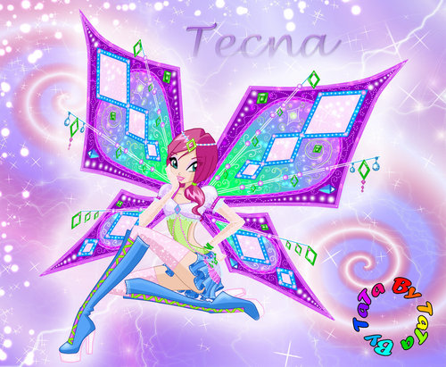 Winx Tecna wallpaper called tecna