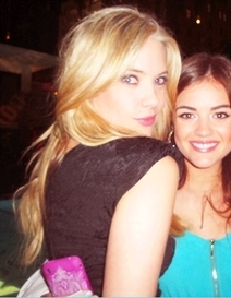 Lucy Hale & Ashley Benson wallpaper titled :)