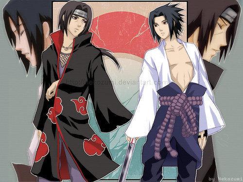 sasuke and itachi wallpaper titled ^^