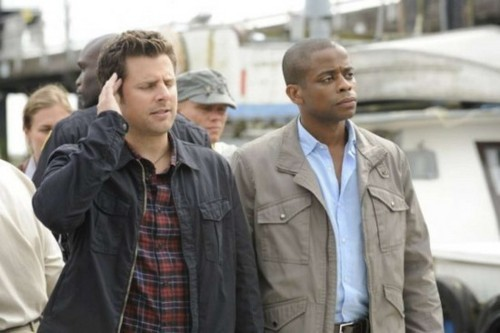 "Psych wallpaper titled 5x06 ""Viagra Falls"" stills"