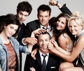 Adam Brody and the cast of The Romantics