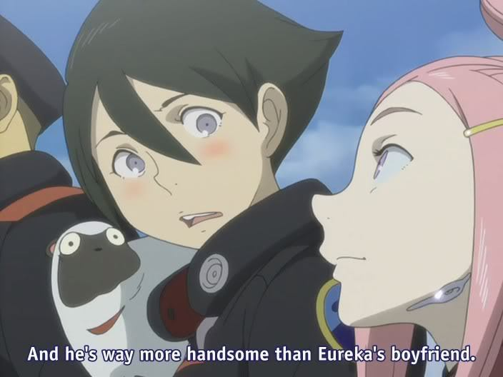 Eureka Seven Anemone And Dominic Eureka 7 Anemone And Dominic