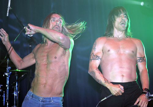 Anthony Kiedis *Ramones tribute*