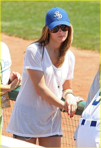 Ashley @ Baseball Game in NYC