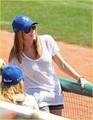 Ashley @ Baseball Game in NYC - twilight-series photo