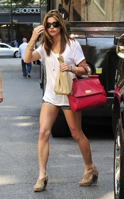 Ashley out in NYC