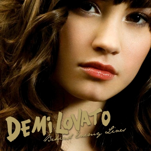 Enemy Lines Fanmade Single Cover Dont Forget Demi Lovato Album 500 Land Official