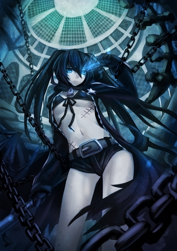 Black Rock Shooter - black%E2%98%85rock-shooter Photo
