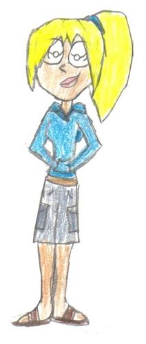 Bridgette drawing