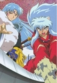 Brothers - sesshomaru-and-inuyasha photo
