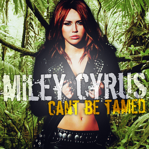 Can't Be Tamed [FanMade Album Cover]
