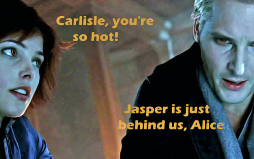 Carlisle, you're so hot!