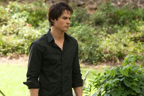 Damon in The Vampire Diaries season 2