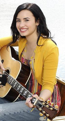 Demi photoshoot
