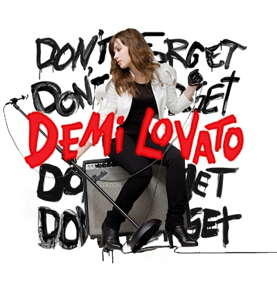 Dont Forget Demi Lovato Album Images Dont Forget Fanmade Album Cover Wallpaper And Background Photos