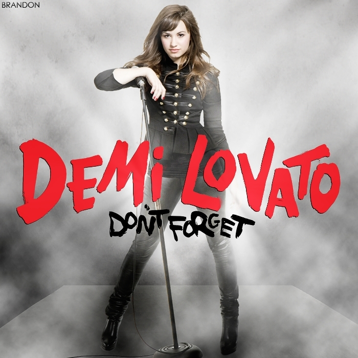 Don't Forget [Fanmade Album Cover] - Don't Forget (Demi ...