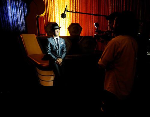 canard, drake at the 2010 VMA promo shoot.