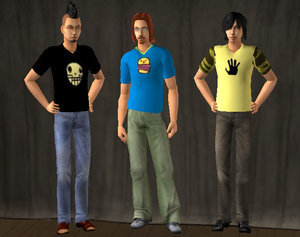 Duncan-Harold-Trent in sims