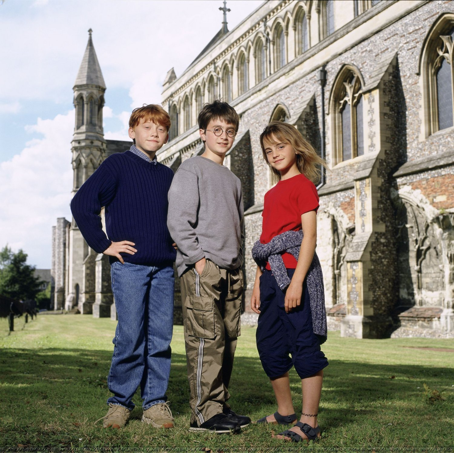EXCLUSIVE: New images of the First Harry Potter's Photoshoot