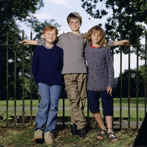 EXCLUSIVE: New picha of the First Harry Potter's Photoshoot