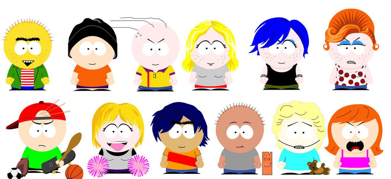 Ed,Edd n Eddy goes South Park