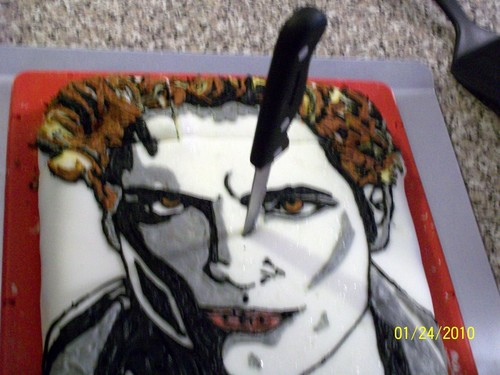 Edward Cullen Twilight Cake