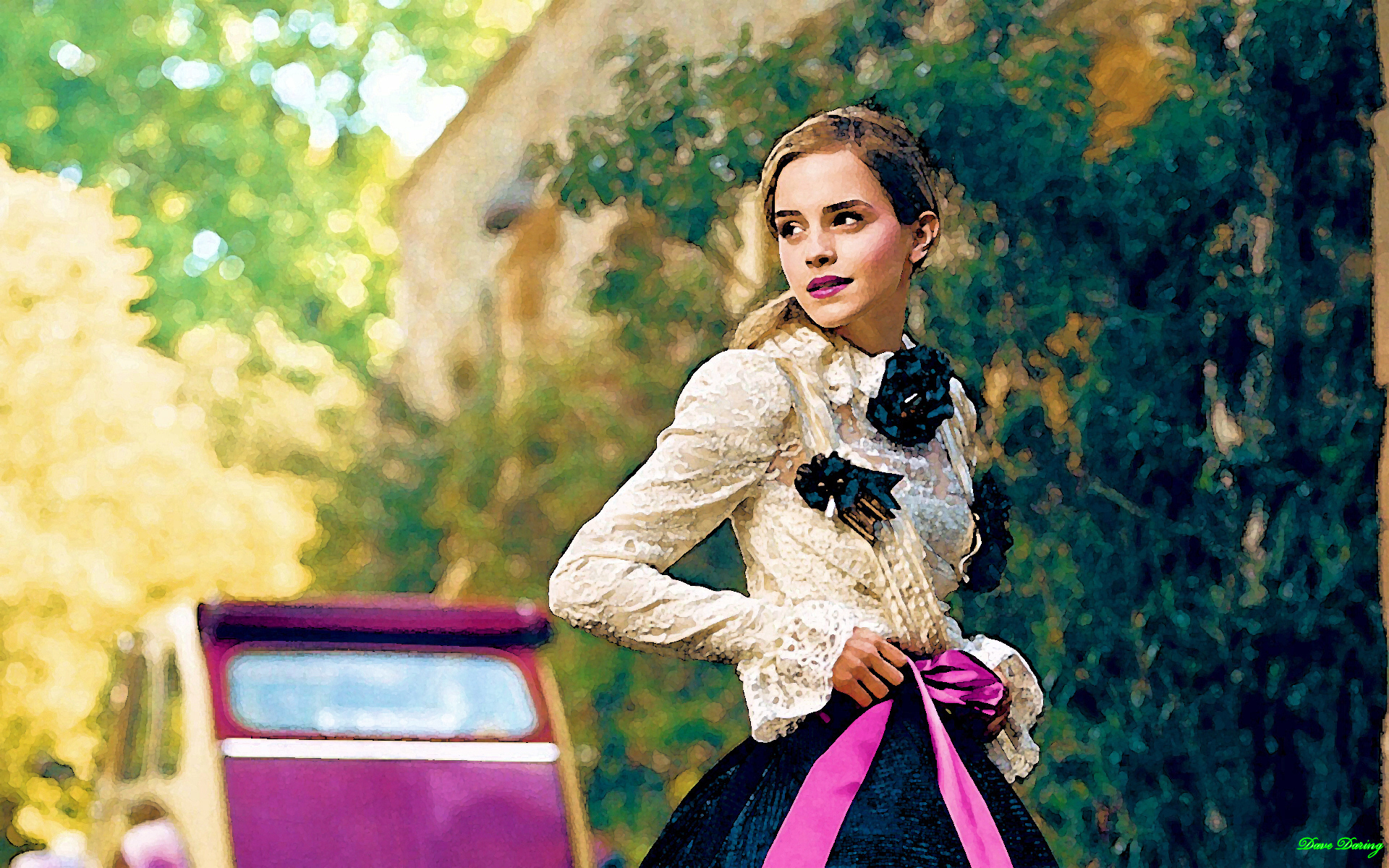 Emma Watson Portrait Wallpapers