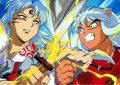 FIGHT! - sesshomaru-and-inuyasha photo
