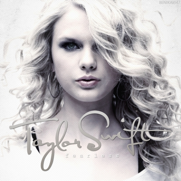 taylor swift album artwork. Fearless [FanMade Album Cover]